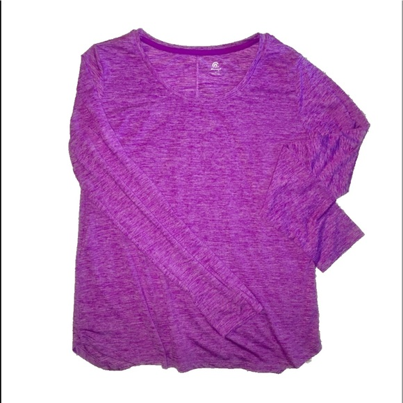 NWOT- Champion Purple Work Out Tee